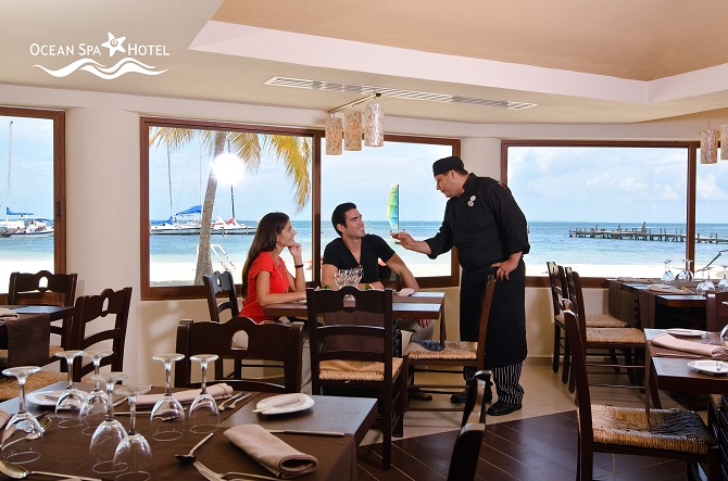 Ocean Spa Hotel, Restaurante Sienna faz parte do portal / Créditos: Divulgação